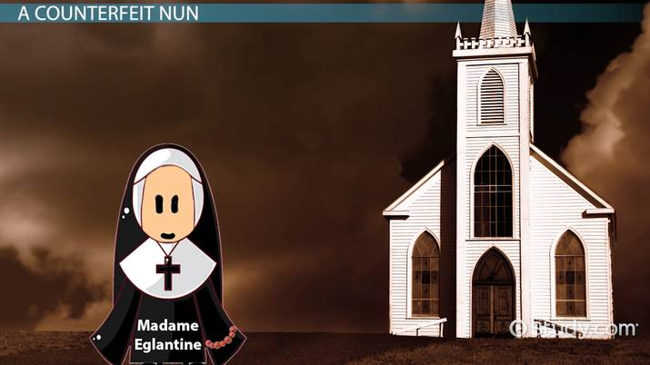 The Nun in The Canterbury Tales: Description & Character Analysis