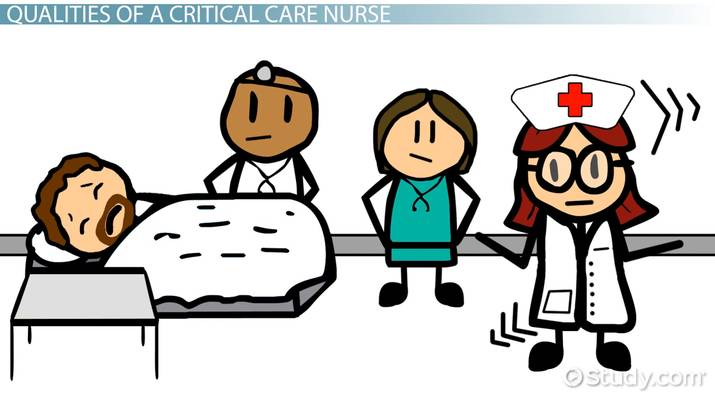Critical Care Nurse: Qualities, Skills & Roles - Video & Lesson