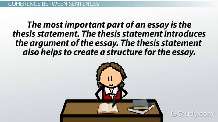 coherence in writing definition  examples   video  lesson