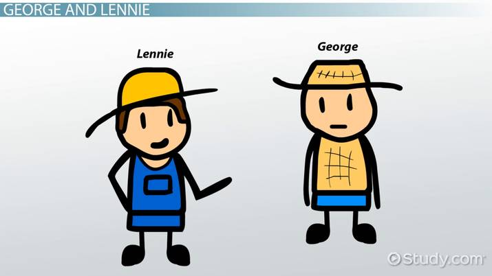 of mice and men george and lennie relationship