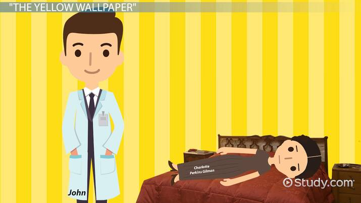 The Husband In The Yellow Wallpaper
