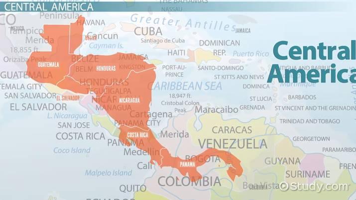 Culture History Politics Of Central America Video Lesson Transcript Study Com
