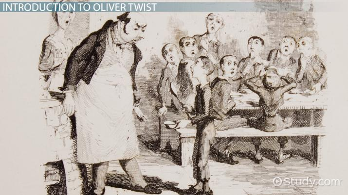 oliver twist the anchor of character