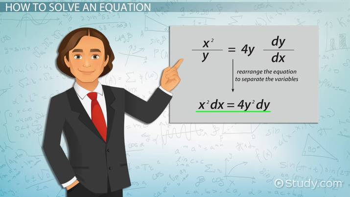 Separable Differential Equation: Definition & Examples