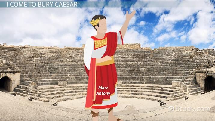 Repetition in Julius Caesar's Antony Speech - Video & Lesson