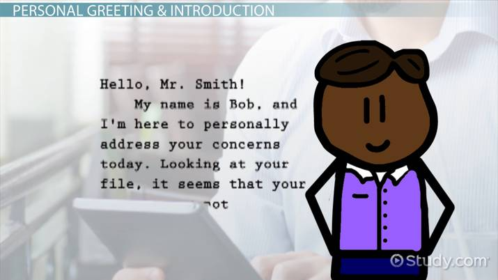 How to Write a Customer Service Email - Video & Lesson