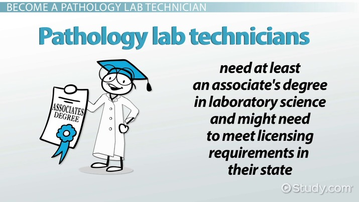 how to become a pathology lab technician