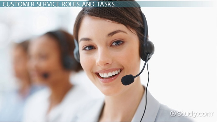 Customer Service Department: Role & Tasks