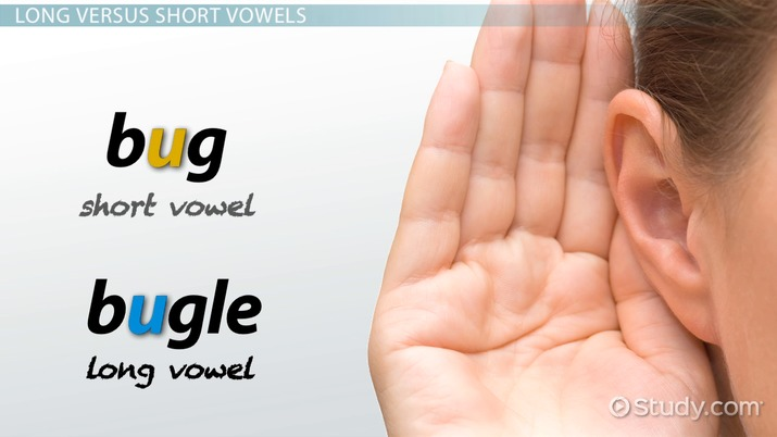 Long Short Vowels Sounds Word Examples Video Lesson