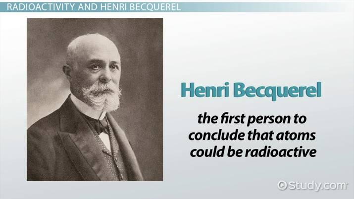 who is henri becquerel