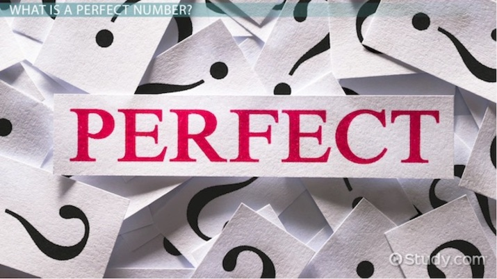 Perfect Numbers: Definition, Formula & Examples - Video