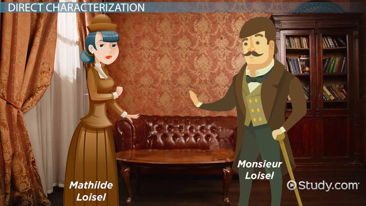 The Necklace Mathilde Loisel Characterization Quotes Video