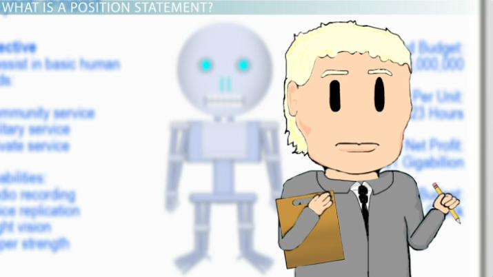 Position Statement: Definition & Examples - Video & Lesson