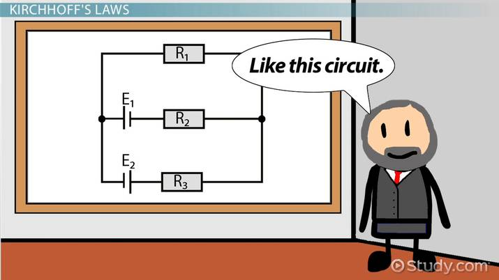 Kirchhoff's Law: Definition & Application - Video & Lesson