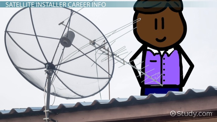 Be A Satellite Installer Education And Career Roadmap