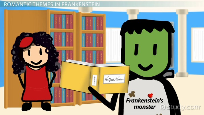 Examples of romanticism in frankenstein