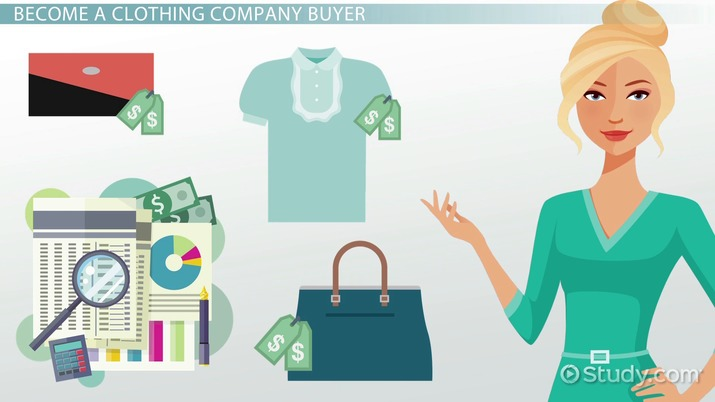 How to Become a Buyer for a Clothing Company