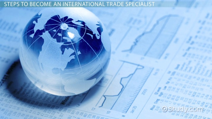 How To Become An International Trade Specialist Career Roadmap