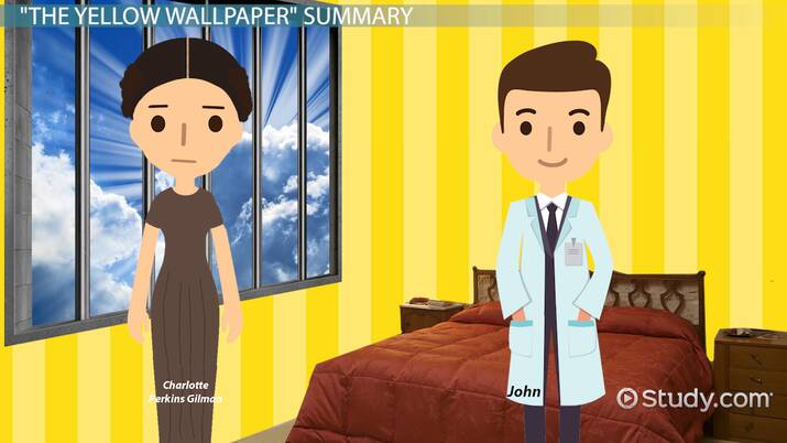Solved What Does The Bed Symbolize In The Yellow Wallpaper Study Com
