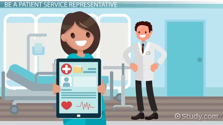 how to become a patient service representative
