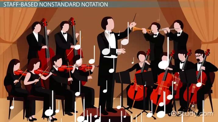 Nonstandard Musical Notation Symbols Video Lesson Transcript