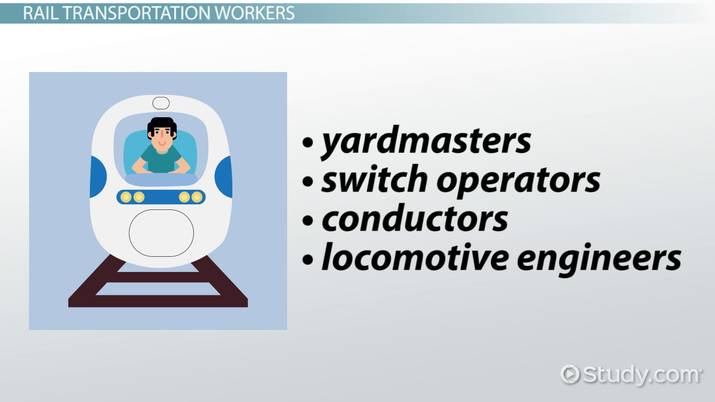 Be a Rail Transportation Worker: Options and Requirements