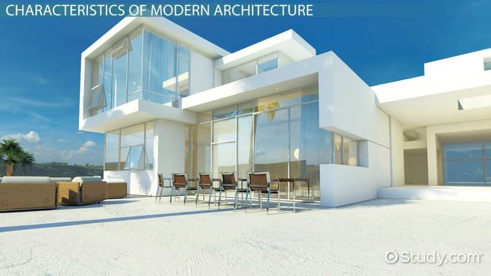 Modern Architecture Characteristics Style Video Lesson