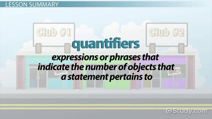 Quantifiers in Mathematical Logic