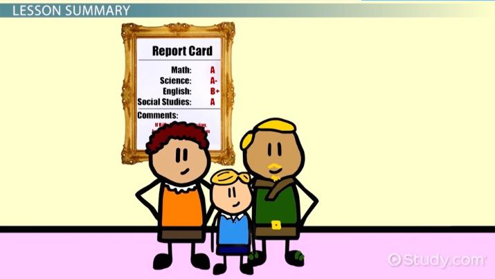 End Of Year Report Card Comments Video Lesson Transcript