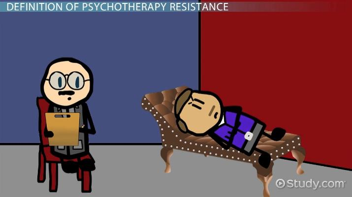 Resistance In Psychotherapy Definition Concept Video Lesson