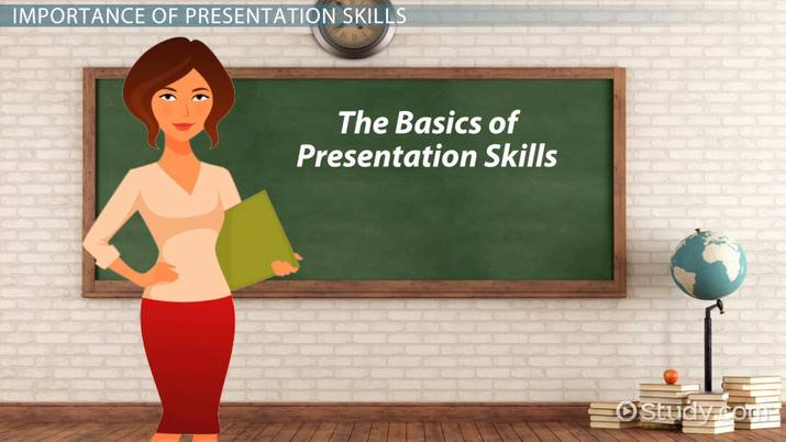 The Importance of Presentation Skills in the Classroom