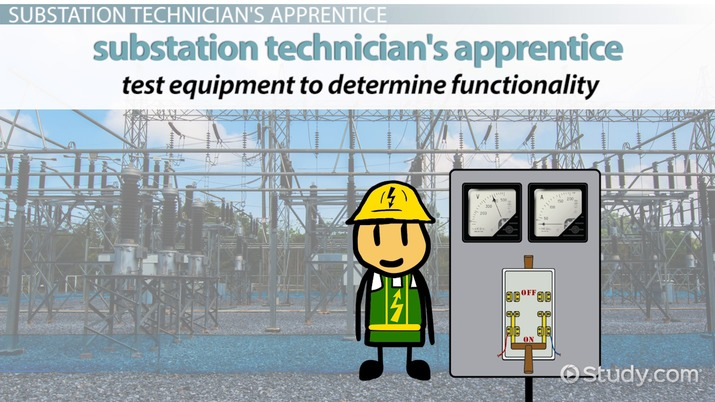 Be a Substation Technician's Apprentice: Training Info and