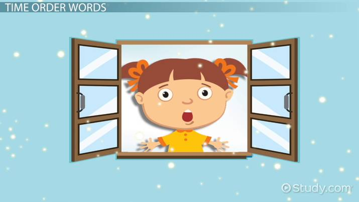 Sequence Of Events Lesson For Kids Video Lesson