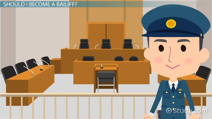 Be a Bailiff | Education and Career Roadmap