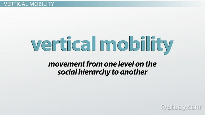 vertical mobility example