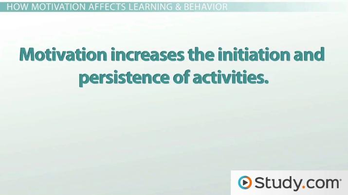 The Importance Of Motivation In An Educational Environment