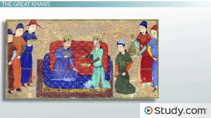 mongols contributions