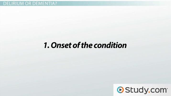 What Is Delirium? - Definition, Causes & Treatment - Video