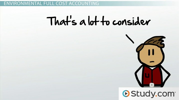 Environmental Full Cost Accounting: Definition & Example