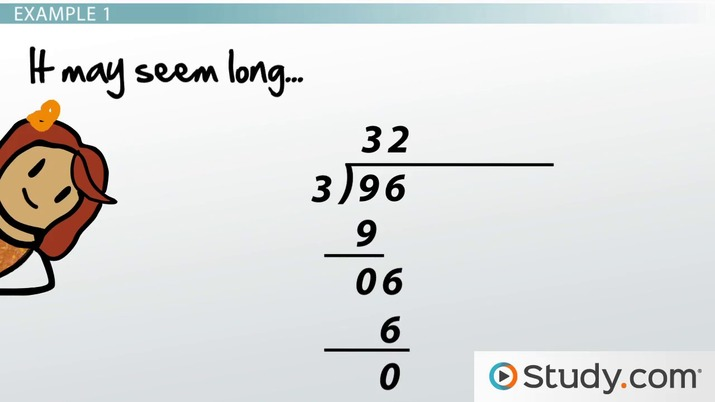 Performing Long Division with Large Numbers: Steps and Examples