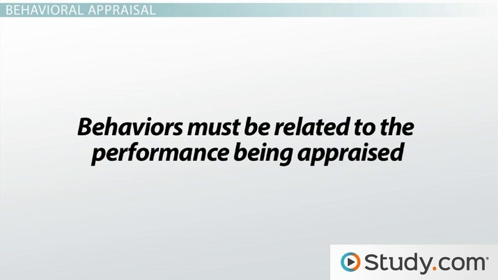Types of Performance Appraisal: Trait, Behavioral & Results