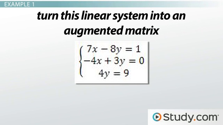 write system of equations in matrix form calculator