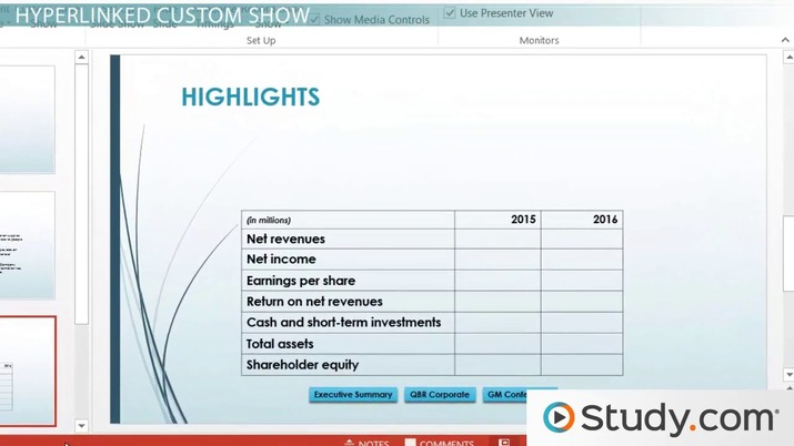 planning your powerpoint presentation custom slideshows timing and