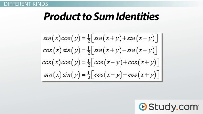 Trigonometric Identities Definition Uses Video Lesson