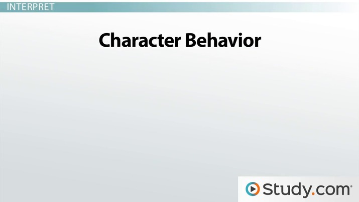 How To Analyze Characters In Literature Explanation And