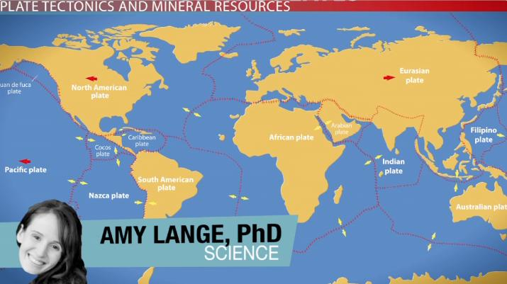 Plate Tectonics and the Location of Mineral Deposits - Video