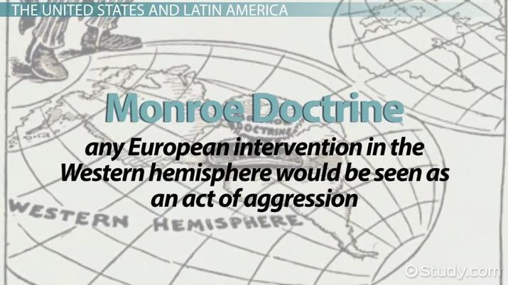 Imperialism In Latin America Video Lesson Transcript Study