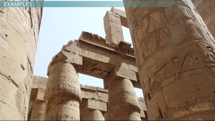 The PostandLintel System of Egyptian Architecture Video Lesson