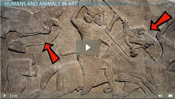 Human & Animal Forms in the Art of the Ancient Near East