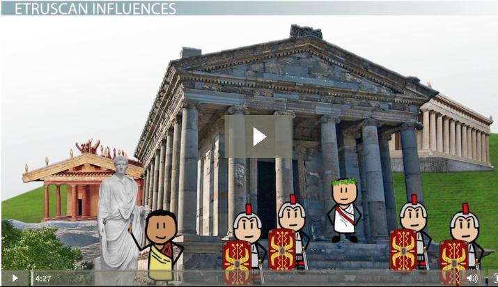 Greek Etruscan Influences On Roman Art Video Lesson